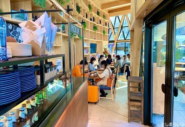 GLOBAL RING CAFE グローバルリングカフェ 店内