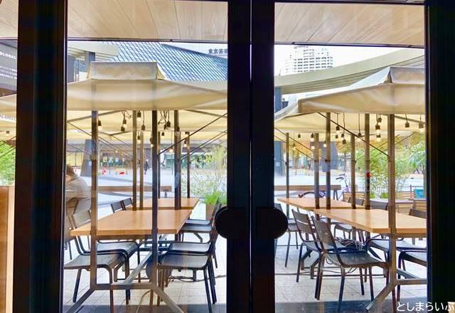 GLOBAL RING CAFE グローバルリングカフェ 店内からの景色