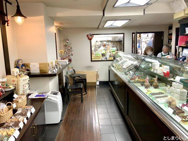 ルート・デュ・ショコラ 目白店の厨房