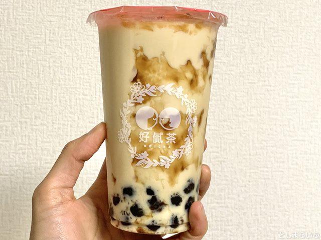 ホイチャ HOICHA 黒糖タピオカほうじ茶ミルク