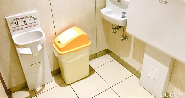 池袋東武 7階 トイレ
