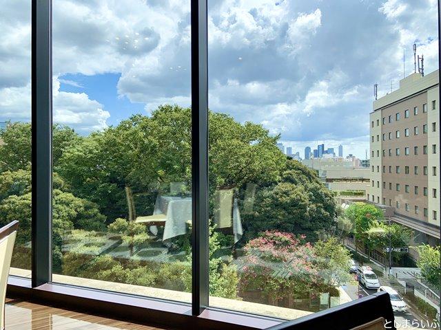 目白 アンジェロコート東京の窓からの景色