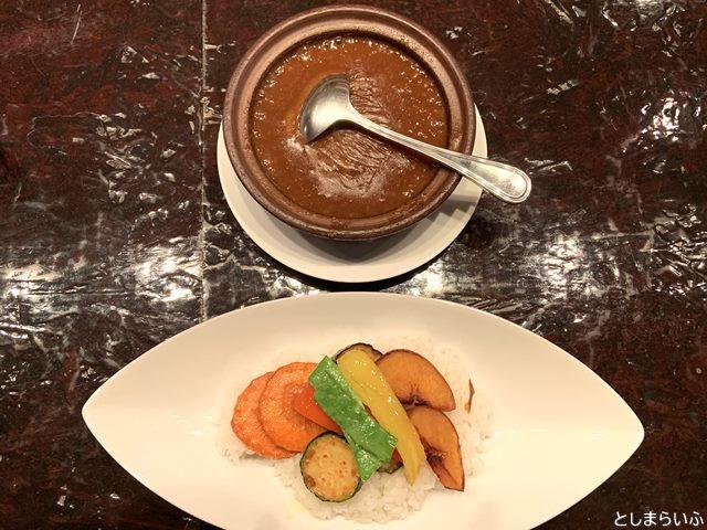 目白 ブリボン 焼き野菜カレー