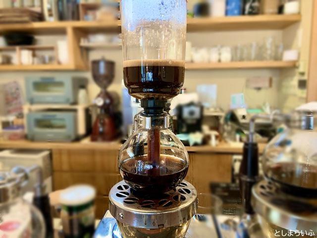 椎名町サイフォニスタ サイフォン式コーヒー