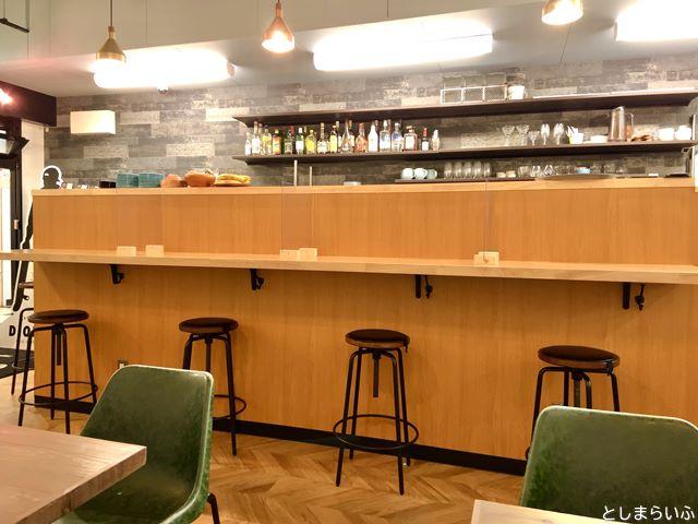 DIORAMA CAFE ジオラマカフェ 池袋 カウンター席