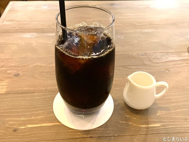 DIORAMA CAFE ジオラマカフェ 池袋 アイスコーヒー