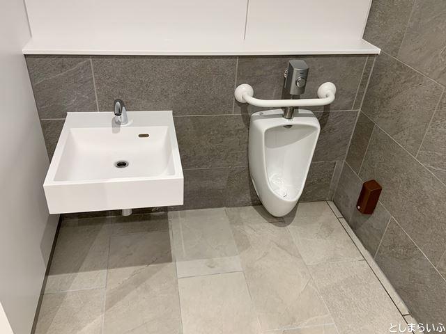 イケサンパークの子供用トイレ
