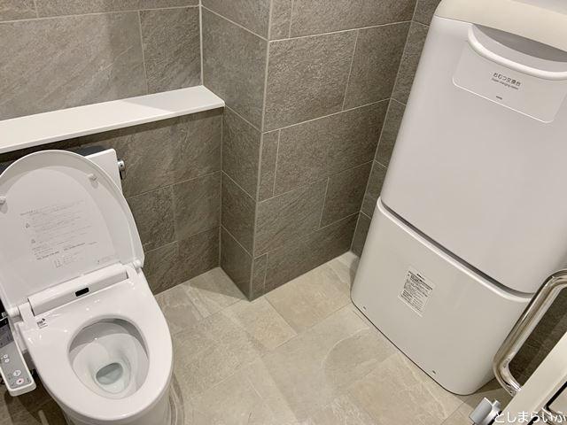 イケサンパークのトイレ内