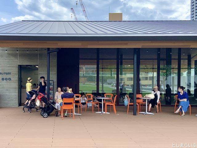 イケサンパーク カフェスペース