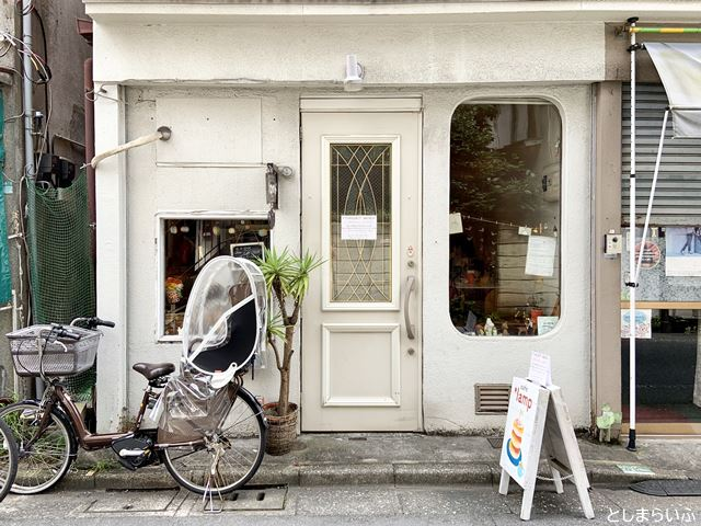 カフェ lamp お店の外観