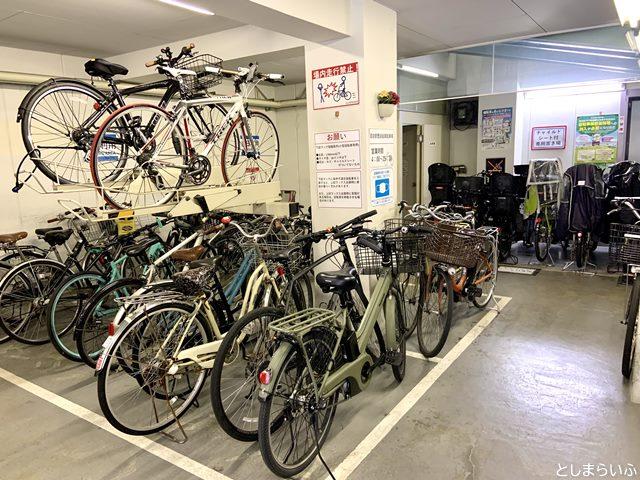 目白駅西自転車駐車場