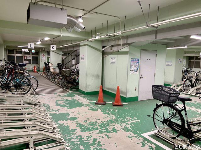 目白駅東自転車駐車場