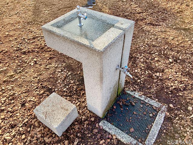 南池袋公園 水飲み・手洗い場
