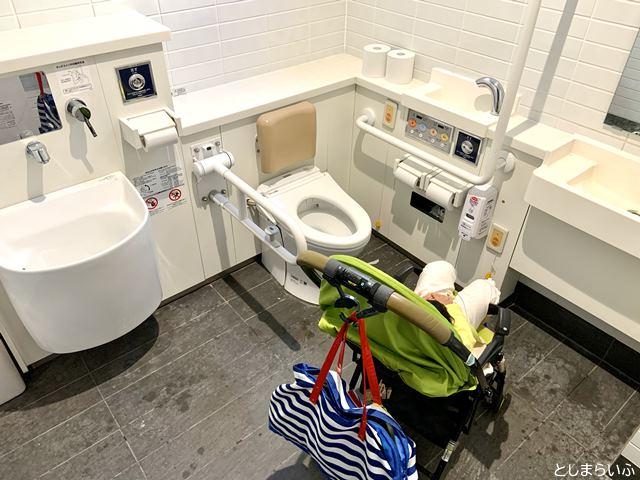 南池袋公園の多目的トイレ
