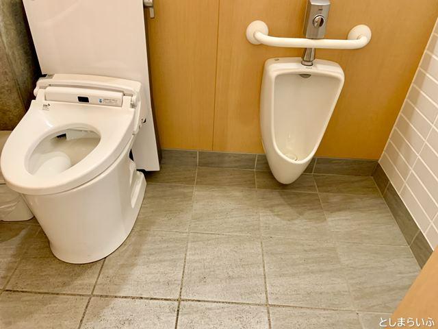 南池袋公園のトイレ 子供用便器