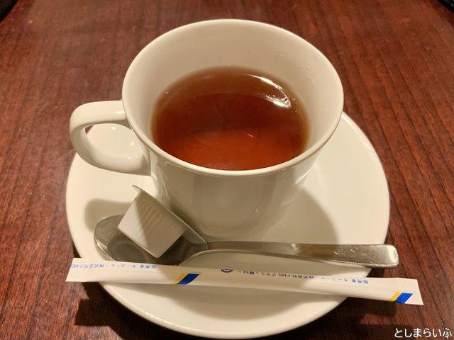 音音 池袋店 食後の紅茶