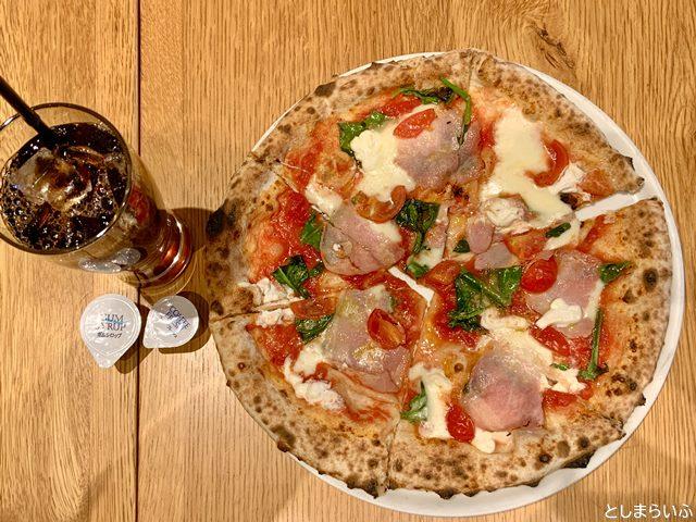 PIZZERIA 37(トレンタセッテ)マルゲリータピザ