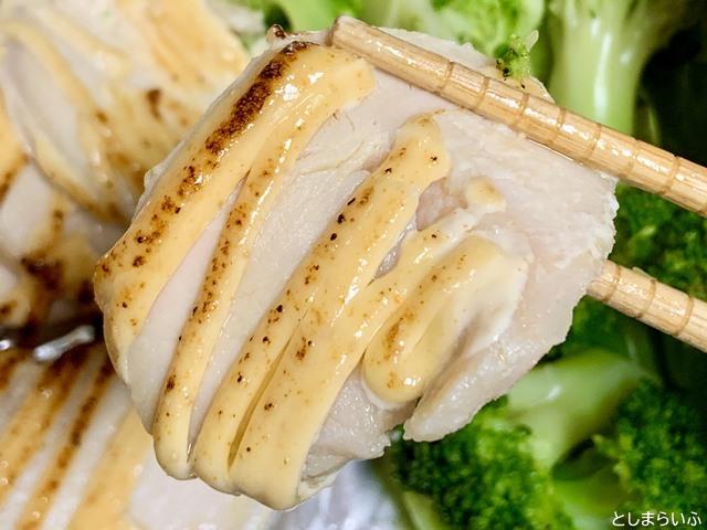 サラダチキン研究所 炙り明太サラダチキンの鶏肉