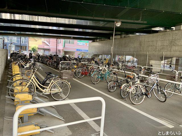 椎名橋自転車駐車場(南)