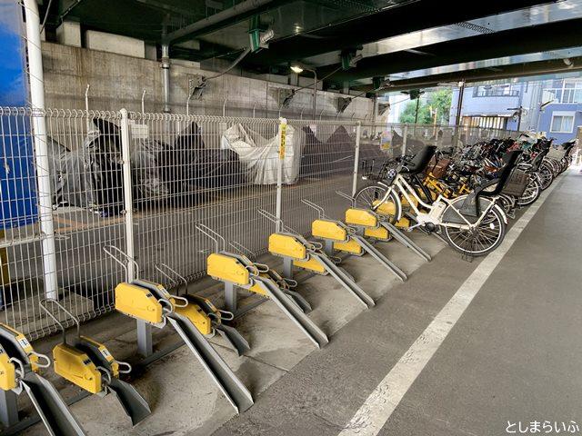 椎名橋自転車駐車場(南)当日利用エリア