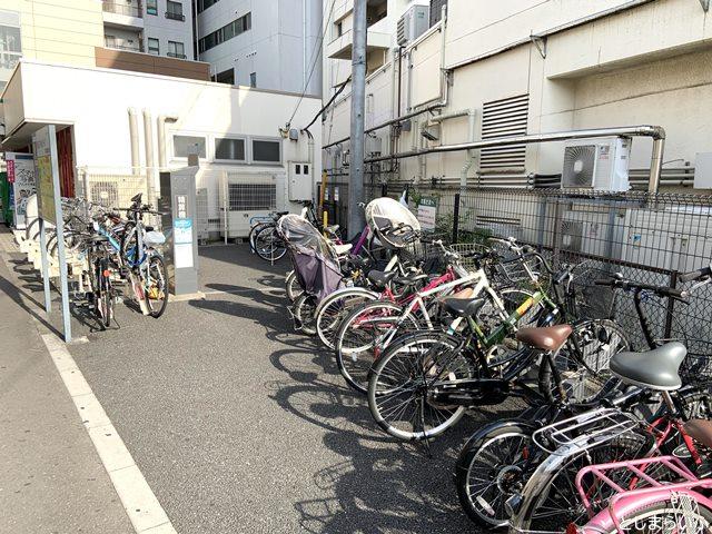 西武スマイルパーク 椎名町駅 自転車置き場