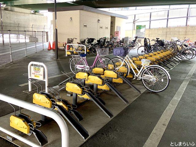 椎名橋自転車駐車場(北)当日利用コイン式