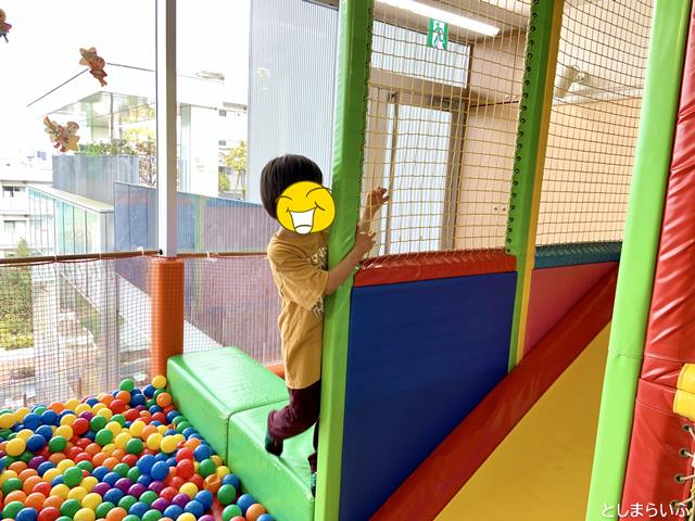 スキップキッズ アイテラス落合南長崎店で遊ぶ子供