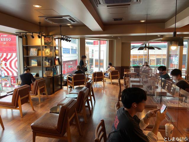 スターバックスコーヒー池袋明治通り店3階