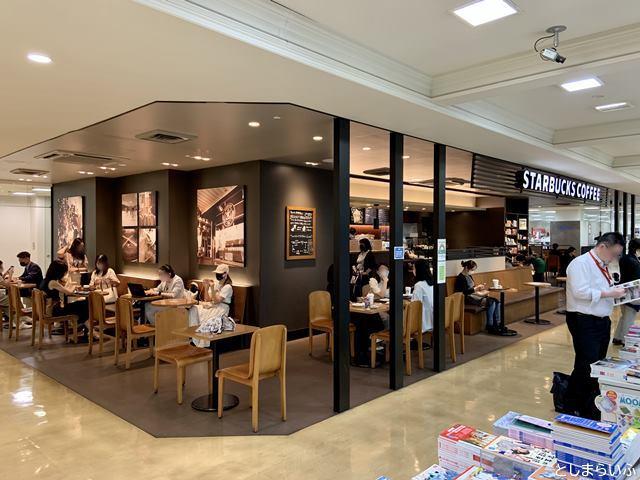 スターバックスコーヒー東武池袋店 座席