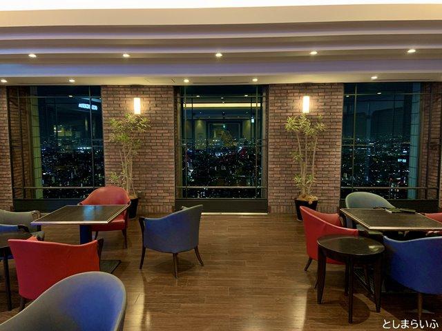 サンシャイン59階 レストランフロア ラウンジ