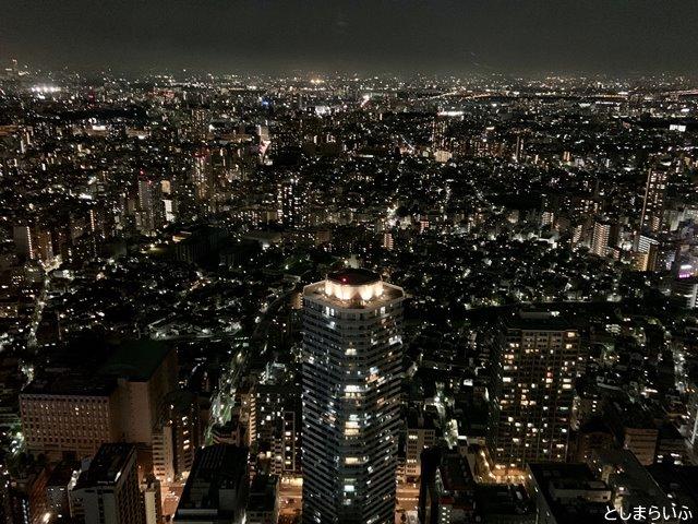 サンシャイン59階からの夜景