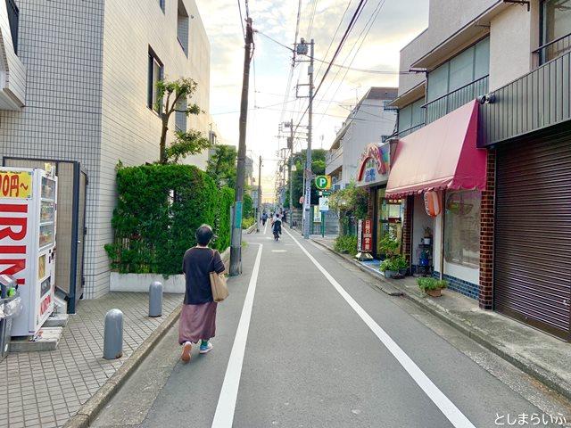 天気の子 バイクチェイスのルート