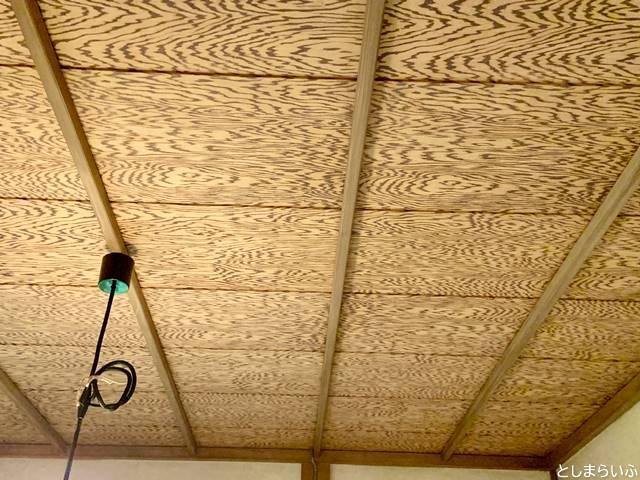 トキワ荘マンガミュージアムの天井