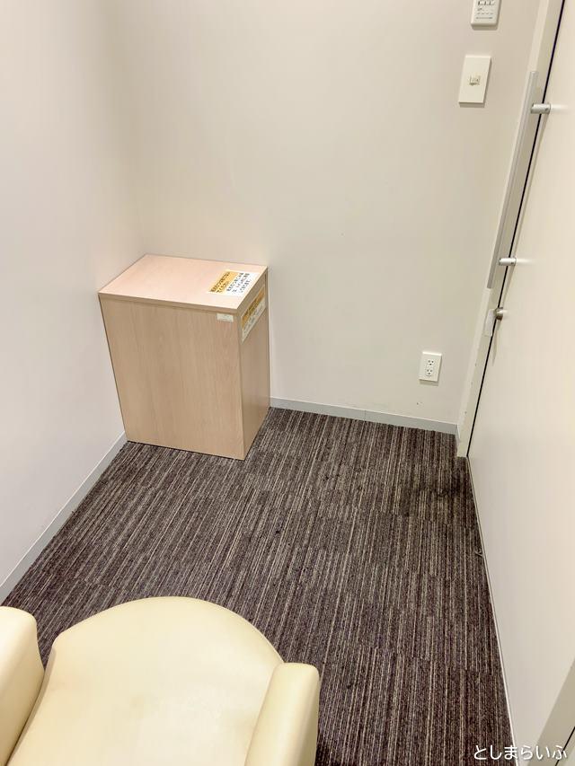 豊島区役所 3階授乳室の中