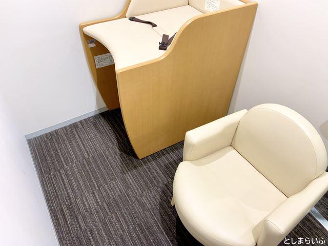 豊島区役所 4階授乳室 個室