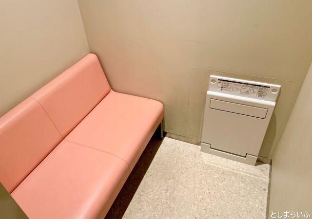 WACCA池袋 ワッカ 授乳室個室
